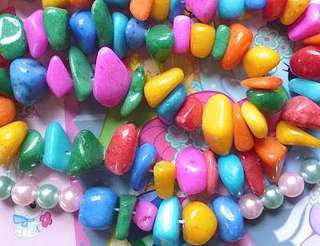 Stones - 50g of Coloured Stones for S$1.20