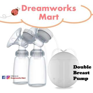 Real Bubee - BPA Free Electric Double Breast Pump [Single | Both Sides]