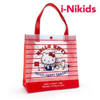 🇯🇵日本直送 - 原裝日版 Sanrio - Hello Kitty 凱蒂貓PVC手挽袋
