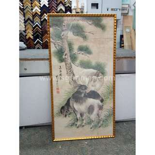 Chinese Art Framing Service @ Toa Payoh