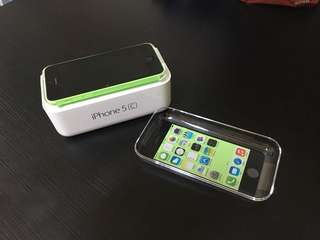 iPhone 5c 32GB Green Excellent Condition
