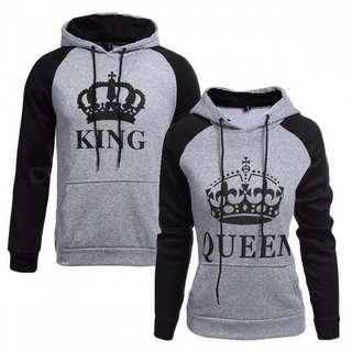 King & Queen Hoodies