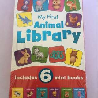My First Animal Library ( BBW )