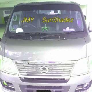JMY universal SunShadez for both car and trucks etcs..