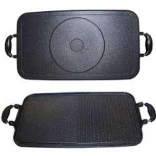 Alat Panggang Jumbo Lebih Besar Dan Lebar 4Cm Dari Multi Grill Pan Reguler