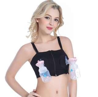Breast pump for maternity feeding bra