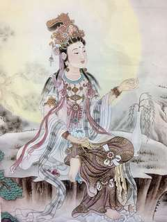 4 BN Framed Portraits of Guan Yin