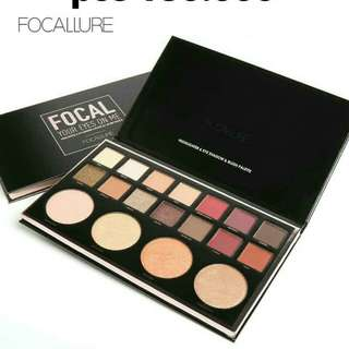 Focallure focal eyeshadow and highlighter