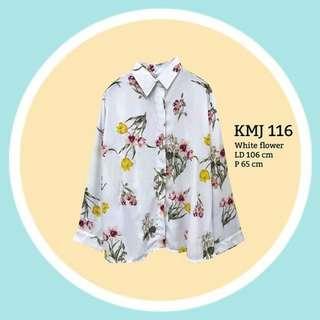 White Flower Shirt