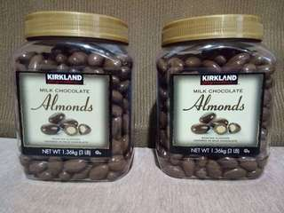 KIRKLAND ALMOND 1.36kg & RAISIN 1.5kg