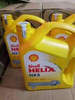Shell Helix HX 5 galon 4 L