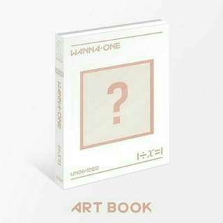 [Loose] Art Book Ver Album Wanna One Undivided