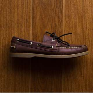 BOAT SHOE IN ANTIQUE BY LIKHANG PINOY