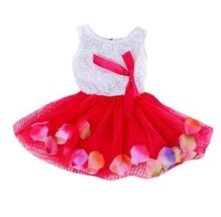 Colourful Mini Tutu Dress