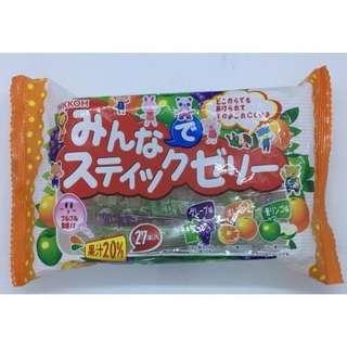 🚚 日幸果汁20%綜合果凍棒