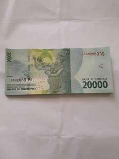 Uang 20000 nkri