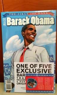 Obama First 100 days comic.