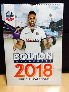 2018 Bolton Wanderers FC Calender