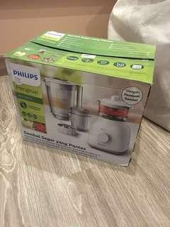 Unused Phillips Blender HR3448 with Sambal Maker