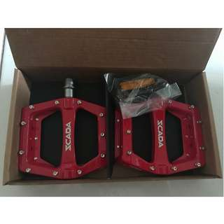 💯🆕SCADA BMX/XC/ENDURO/DH Pedals (RED)(Limited stock)