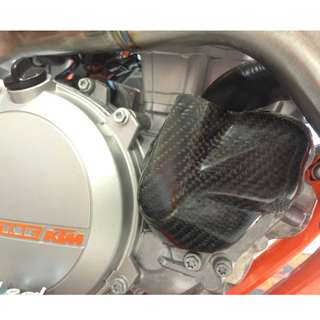 BRAND NEW P3 Carbon Water Pump Cover KTM 250/350