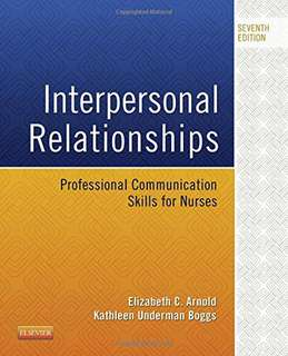 Interpersonal Relationships, 7th edition