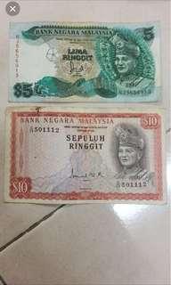 Duit Ringgit Malaysia lama