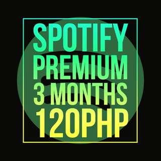 Spotify 3 MONTHS Premium