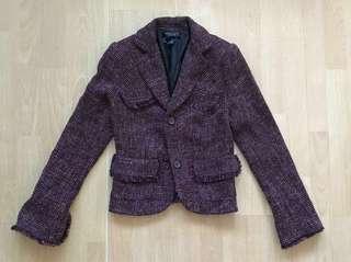 TAHARI Tweed Jacket