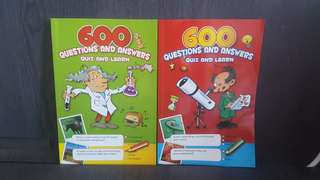600 Questions & Answers Quiz & Learn