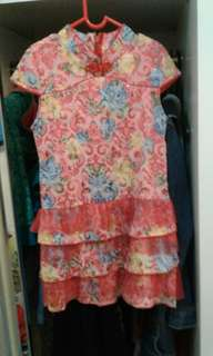 Dress anak imlek #KostJkt
