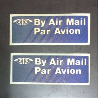 Old Avion Airmail Label X 2 (unused) (both for $1)