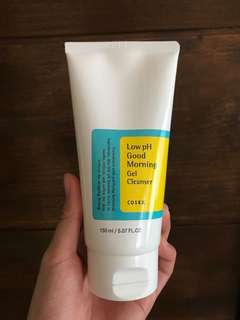 REPRICED‼️Cosrx good morning gel cleanser