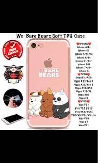 WE BARE BEARS PHONE CASES