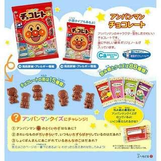 🚚 日本帶回😝不二家麵包超人巧克力