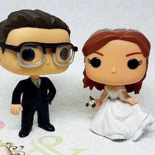 Custom Wedding Funko Pop Couple