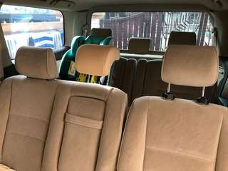 Toyota alphard anh10 car seat headrest modify