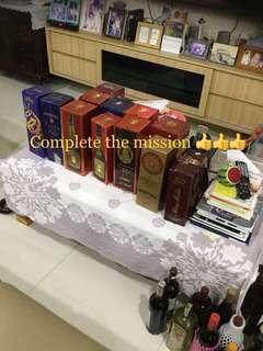 Martell Hennessy otard remy Martin