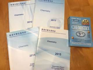Chemistry past paper solution
