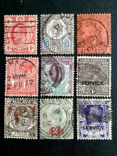 British colonies stamps#16a