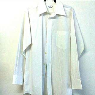 White Long Sleeved Shirt (S-M)