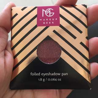 Makeup Geek Eyeshadow (certain call)