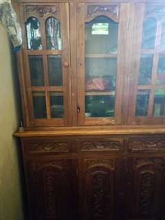 Forsale carving cabinet