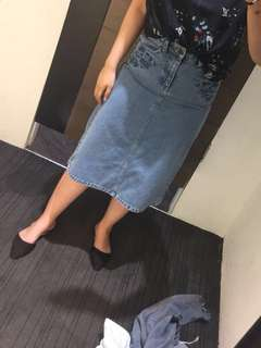 Mark Spencer Midi Skirt