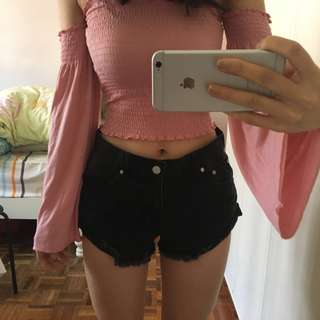 Forever 21 Mid waist shorts