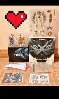 Tung mung Digimon omegamon x metal build