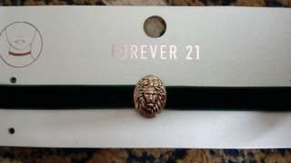 🆓*POSTAGE*FOREVER21 Royal green chocker #midmay75