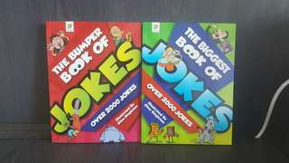 The Biggest Book of JOKES Over 2000 Jokes. 2 for $12