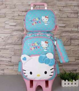 3 in 1 Detachable Hello Kitty Trolley Bag
