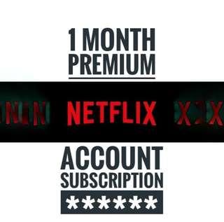 Netflix 1 month